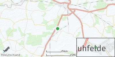Google Map of Kuhfelde