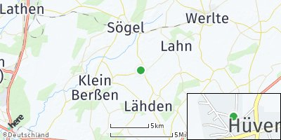 Google Map of Hüven