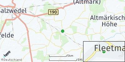 Google Map of Fleetmark
