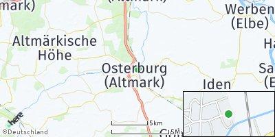 Google Map of Osterburg