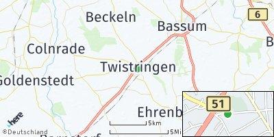 Google Map of Twistringen
