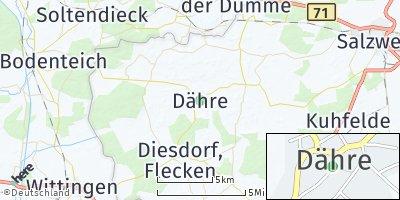 Google Map of Dähre