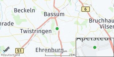 Google Map of Apelstedt