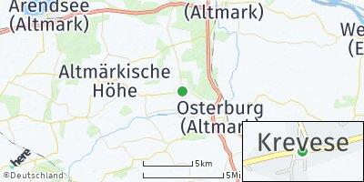 Google Map of Krevese