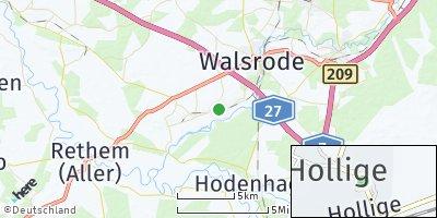 Google Map of Hollige