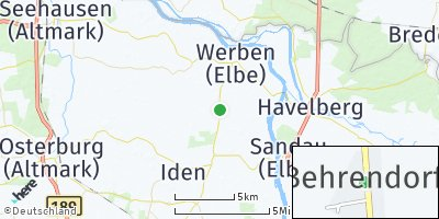 Google Map of Behrendorf