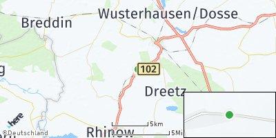 Google Map of Sieversdorf-Hohenofen