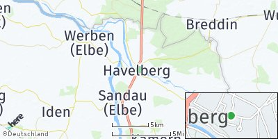 Google Map of Havelberg
