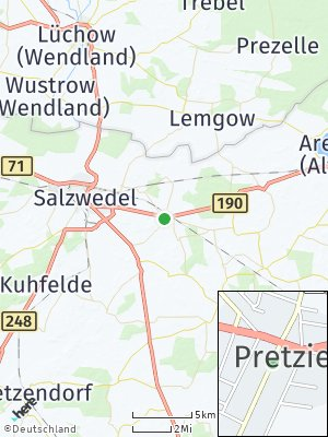 Here Map of Pretzier