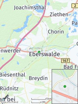 Here Map of Eberswalde
