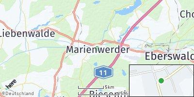Google Map of Marienwerder