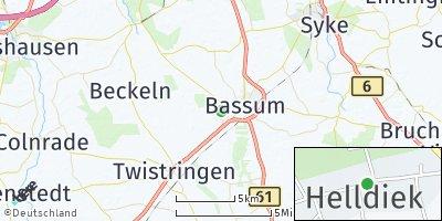 Google Map of Helldiek