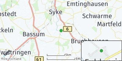 Google Map of Jardinghausen