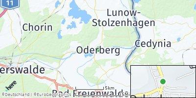 Google Map of Oderberg