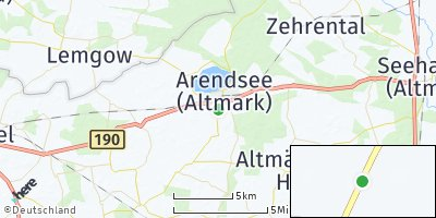 Google Map of Arendsee