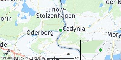 Google Map of Hohensaaten