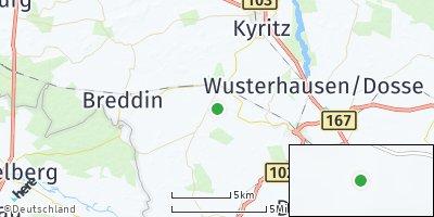 Google Map of Zernitz-Lohm