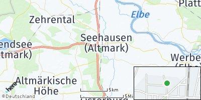 Google Map of Seehausen
