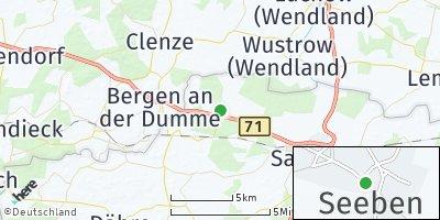 Google Map of Seebenau