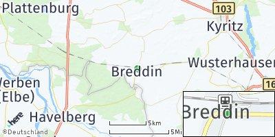 Google Map of Breddin