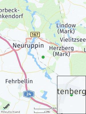 Here Map of Lichtenberg bei Neuruppin
