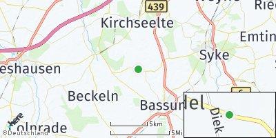 Google Map of Diek