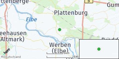 Google Map of Legde / Quitzöbel