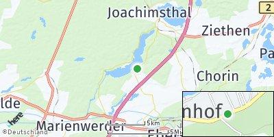 Google Map of Schorfheide