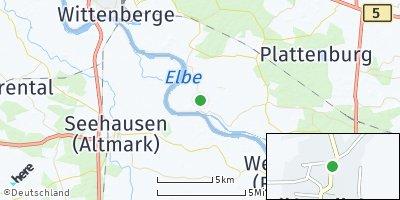 Google Map of Rühstädt
