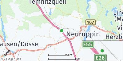 Google Map of Märkisch Linden