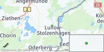 Google Map of Lunow-Stolzenhagen