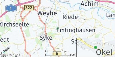 Google Map of Okel