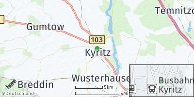 Google Map of Kyritz