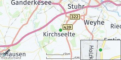 Google Map of Kirchseelte