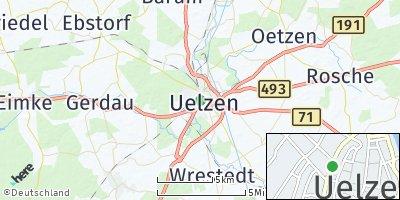 Google Map of Uelzen