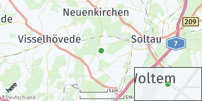 Google Map of Woltem
