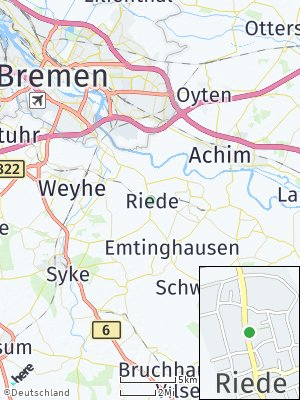 Here Map of Riede