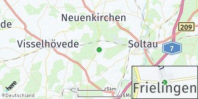 Google Map of Frielingen