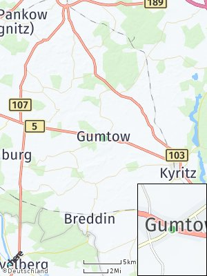 Here Map of Gumtow