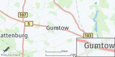 Google Map of Gumtow