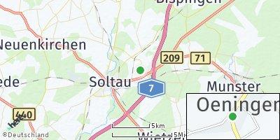 Google Map of Oeningen