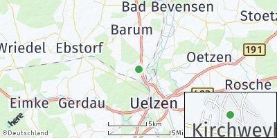Google Map of Kirchweyhe