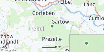Google Map of Gartow