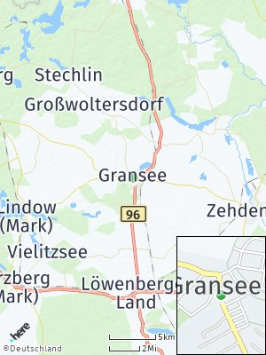 Here Map of Gransee