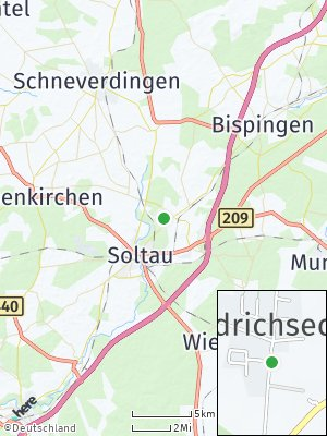 Here Map of Friedrichseck