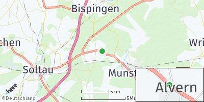 Google Map of Alvern