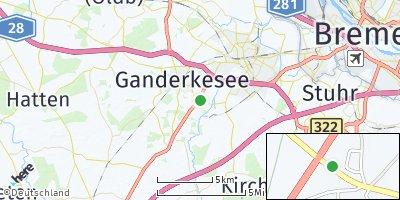 Google Map of Hoyerswege