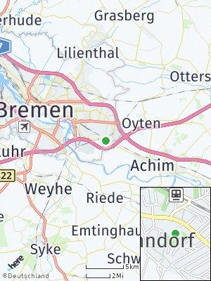 Here Map of Mahndorf