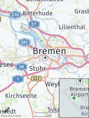 Here Map of Neuenland/Flughafen