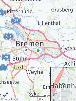 Here Map of Habenhausen